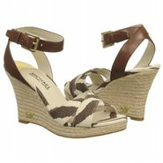Kami Ankle Strap Shoes (Brown/White Tiger) - Women