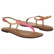 Gigi Sandals (Shocking Pink/Cork) - Women's Sandal