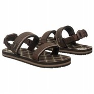 Grom Convertible Ahi Sandals (Brown Plaid 4) - Kid