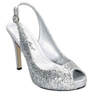 Gala Shoes (Silver Metallic) - Women's Shoes - 8.0