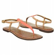 Gigi Sandals (Neon Coral/Natural) - Women&#39;s Sandal