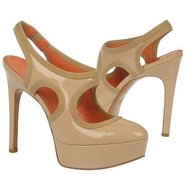 Deanne Shoes (Nude Patent) - Women's Shoes - 8.5 M
