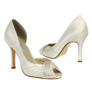 SASKIA Shoes (White) - Women's Wedding Shoes - 7.0