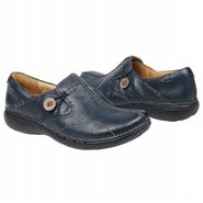 Un-Loop Shoes (Navy Blue Leather) - Women's Shoes