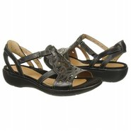 Un-Quartz Sandals (Black Leather) - Women's Sandal