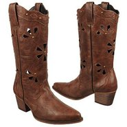 Wendy Boots (Chocolate) - Women's Boots - 7.5 M
