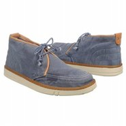 Hookset Fabric Chukka Boots (Blue) - Men's Boots -