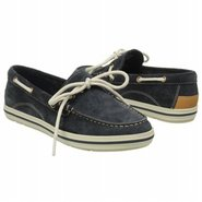 Casco Bay Boat Shoe Shoes (Navy Suede) - Women's S