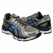 Gel-Kayano 19 Shoes (Titanium/Royal/Black) - Men&#39;s