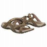 Waimea Slide Sandals (Light Taupe/Olive) - Women's