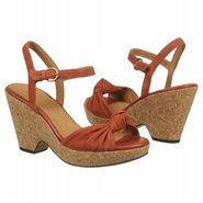 Bella Peace Sandals (Burnt Orange Suede) - Women's