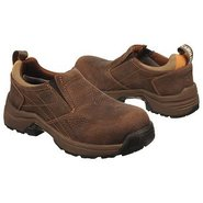 Lightweight ESD Slip Boots (Full Grain Brown) - Wo