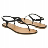 Game Show Sandals (Black Suede) - Women&#39;s Sandals 