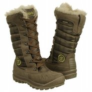 Mount Holly Faux Fur Boots (Dark Grey/Olive Plai) 