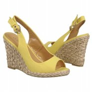 Day Tona Shoes (Yellow Fabric) - Women's Shoes - 5