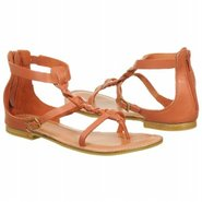 Sage Sandals (Orange Leather) - Women&#39;s Sandals - 