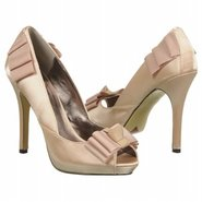 Moo Lah Shoes (Beige Satin) - Women's Shoes - 6.0