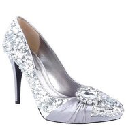 Fable Shoes (Silver Sequins) - Women's Shoes - 9.5