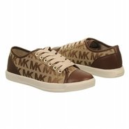 Mk City Sneaker Shoes (Mocha Logo) - Women's Shoes