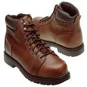 Manawa Steel Toe Boots (Brown) - Men's Boots - 9.0