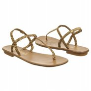 Roma Sandals (Gold Leather) - Women's Sandals - 8.