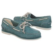 Classic 2 Eye Boat Sho Shoes (Teal) - Women&#39;s Shoe