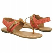 Behave Sandals (Caramel/New Coral) - Women's Sanda