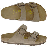 Arizona Sandals (Taupe Suede) - Men's Sandals - 43