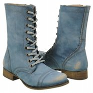Troopa Boots (Blue Leather) - Women&#39;s Boots - 10.0