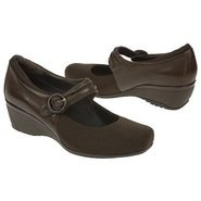 Renee Buckle Wedge Shoes (Chestnut Brown) - Women'