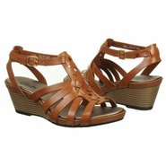 Lucia Coral Sandals (Tan Leather) - Women's Sandal