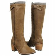 Kandace Tall Boot Boots (Lt Brown Leather) - Women