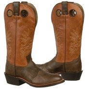 14 inch Buckaroo Boots (Chocolate/Orange) - Men's