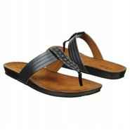 Lynx Clasp Sandals (Black Leather) - Women's Sanda