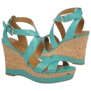 Sophie Shoes (Turquoise Leather) - Women's Shoes -