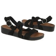 Brittany Sandals (Black Nubuck) - Women's Sandals