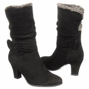 Virginia Boots (Black Suede) - Women&#39;s Boots - 6.0
