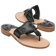 Navajo Sandals (Black/Black Patent) - Women's Sand