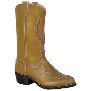 12  WW Smooth Stitch Boots (Mahogany) - Men's Boot