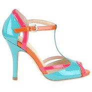 Badre Shoes (Aqua/Neon Pink/Mente) - Women's Shoes