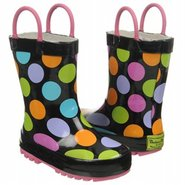 Multi Dotty Tod/Pre Boots (Black/Muli) - Kids&#39; Boo