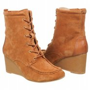 Arissa Bootie Boots (Luggage Suede) - Women's Boot