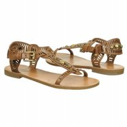 Elena Sandals (Tan Leather) - Women's Sandals - 6.