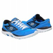 Go Run All Season Shoes (Blue/Black) - Men's Shoes