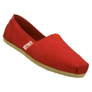 Bobs Earth Day Shoes (Red) - Women's Shoes - 11.0