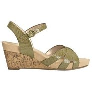 Lighthearted Sandals (Green Snake) - Women's Sanda