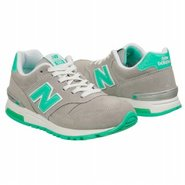 The 565 Shoes (Grey/Green) - Women's Shoes - 11.0