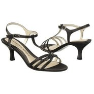 Abbie Shoes (Black Satin) - Women's Shoes - 8.0 M