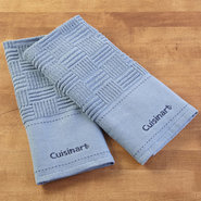 Set of 2 Cuisinart Kitchen Towels, 18x 28-inch - B