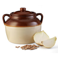 Stoneware Bean Pot - Bean Pot
